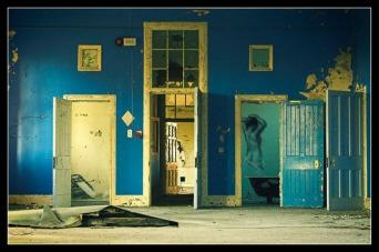 Behind every door...